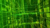 Cyber Space D HD stock footage