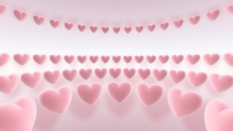 rotating hearts Animation