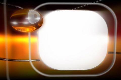 Media TV Cristal Text Window Stock Video Footage