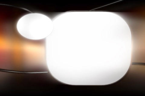 Media TV Cristal Text Window Animation