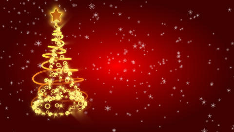 christmas tree 03 Stock Video Footage