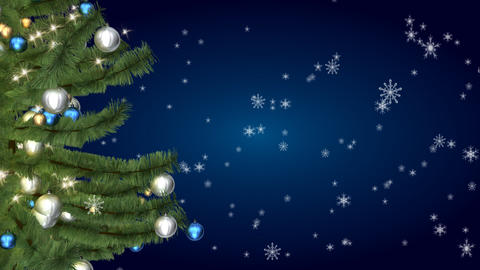 christmas tree 05 Animation