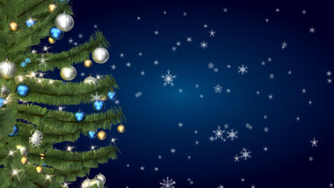 christmas tree 05 Stock Video Footage