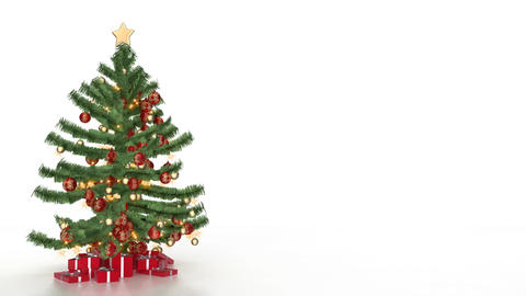 christmas tree 07 Animation