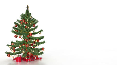 christmas tree 07 Stock Video Footage