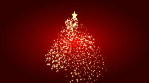 christmas tree 09 Stock Video Footage