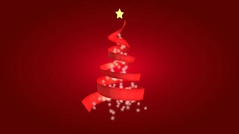 christmas tree 13 CG動画素材