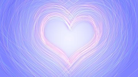 Line Heart LH Fix Aa HD Stock Video Footage
