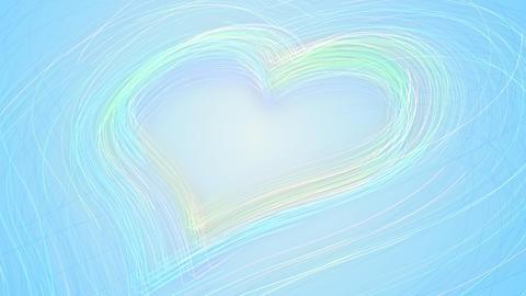 Line Heart LH Fix Bb HD Stock Video Footage