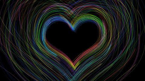 Line Heart LH Fix S A HD Stock Video Footage