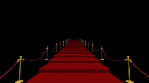 Red Carpet S CkL stock footage