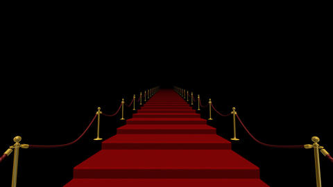Red Carpet S CkL Stock Video Footage
