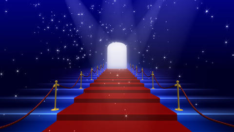 Red Carpet AkF stock footage