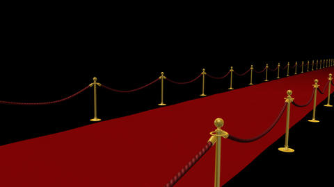 Red Carpet S CfS HD Stock Video Footage