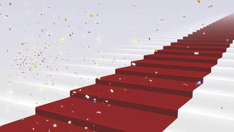 Red Carpet WkS Stock Video Footage