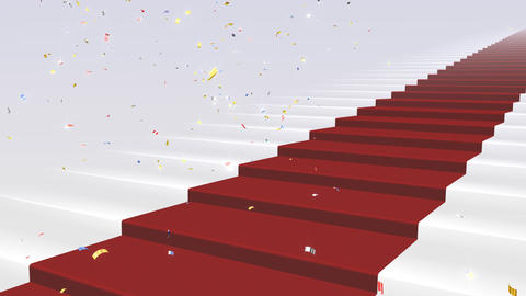 Red Carpet WkS Stock Video Footage