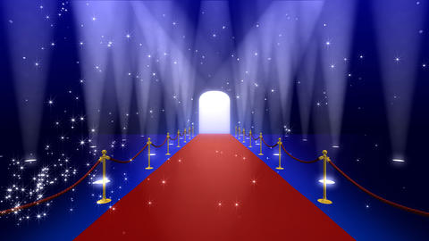 Red Carpet AfF Stock Video Footage