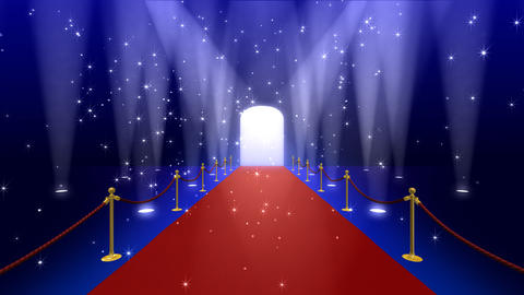 Red Carpet AfF stock footage