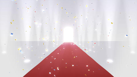Red Carpet WfL Stock Video Footage