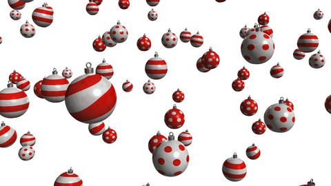 christmas ball 02 Stock Video Footage