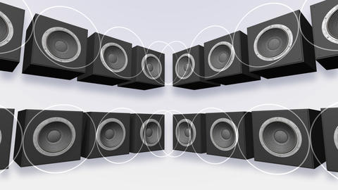 Speakers Stage Aa HD Stock Video Footage