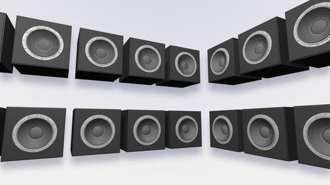 Speakers Stage Aa HD Animation