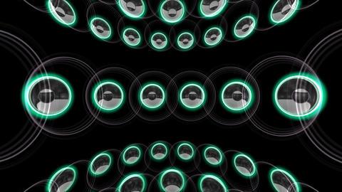 Speaker Spe C1c HD Stock Video Footage