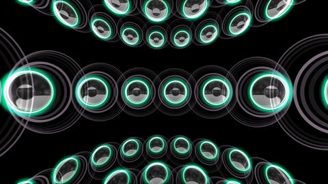 Speaker Spe C1c HD Stock Video Footage