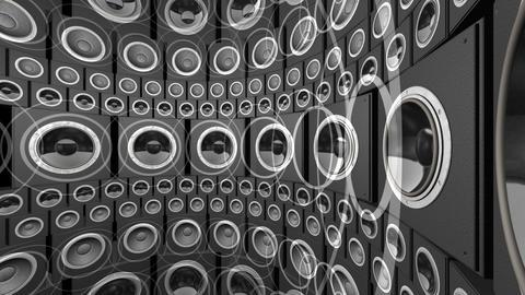 Speaker Spe C3a HD Stock Video Footage