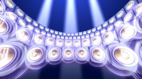 Speaker Spe C4b HD Stock Video Footage