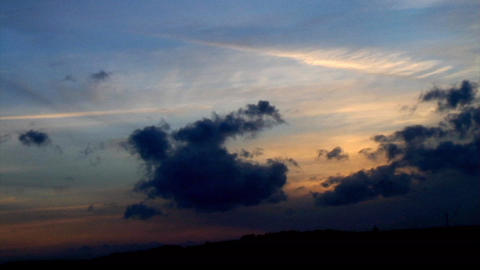 TimeLapseSunset D16 Stock Video Footage