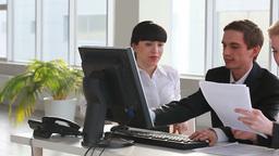 Office Meeting Footage