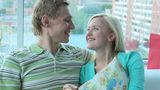 Home Couple stock footage