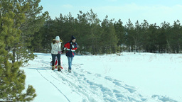 Winter Ride stock footage