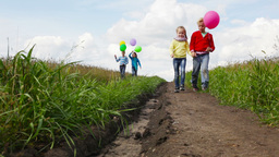 Kids On The Way stock footage