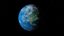Earth Planet Gyrating stock footage