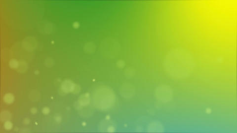 upward green particles Animation