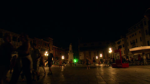 Venice by night 02 Footage