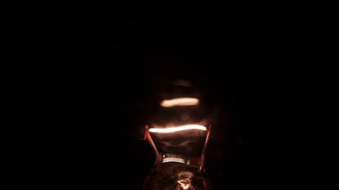 Bulb lamp Footage