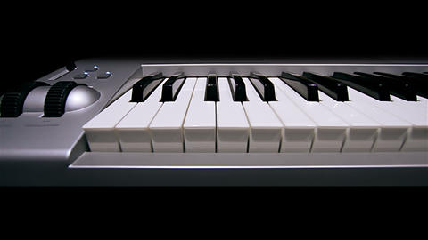 Digital portable piano Footage