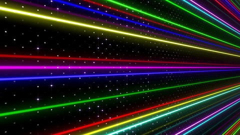 Neon tube W Nsf F L 2 HD 動画素材, ムービー映像素材