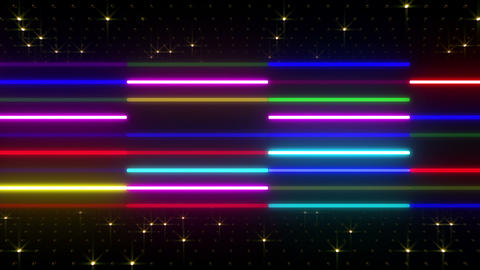 Neon tube W Ybm S S 2 HD Animation
