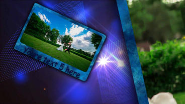 Photo Slideshow After Effects Template