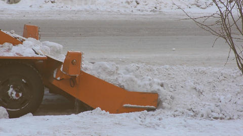 Winter Snow Removal 05 Footage
