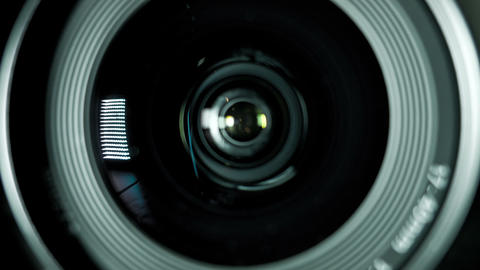 Camera Photo Lens stock footage