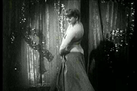A dancer performs at a burlesque club in this 1930, Live Action