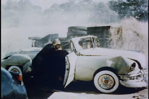 Car chase in 1951 Live Action