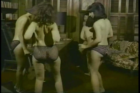 1960s girls strip and dance topless Footage