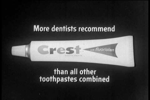 Crest Toothpaste TV commercial Footage