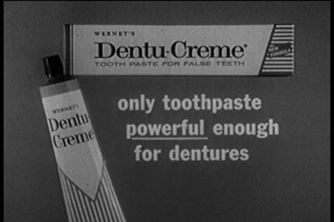Dentu-Creme TV commercial Footage